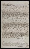 Abel Eaves Affidavit of 1847 Details Military Service