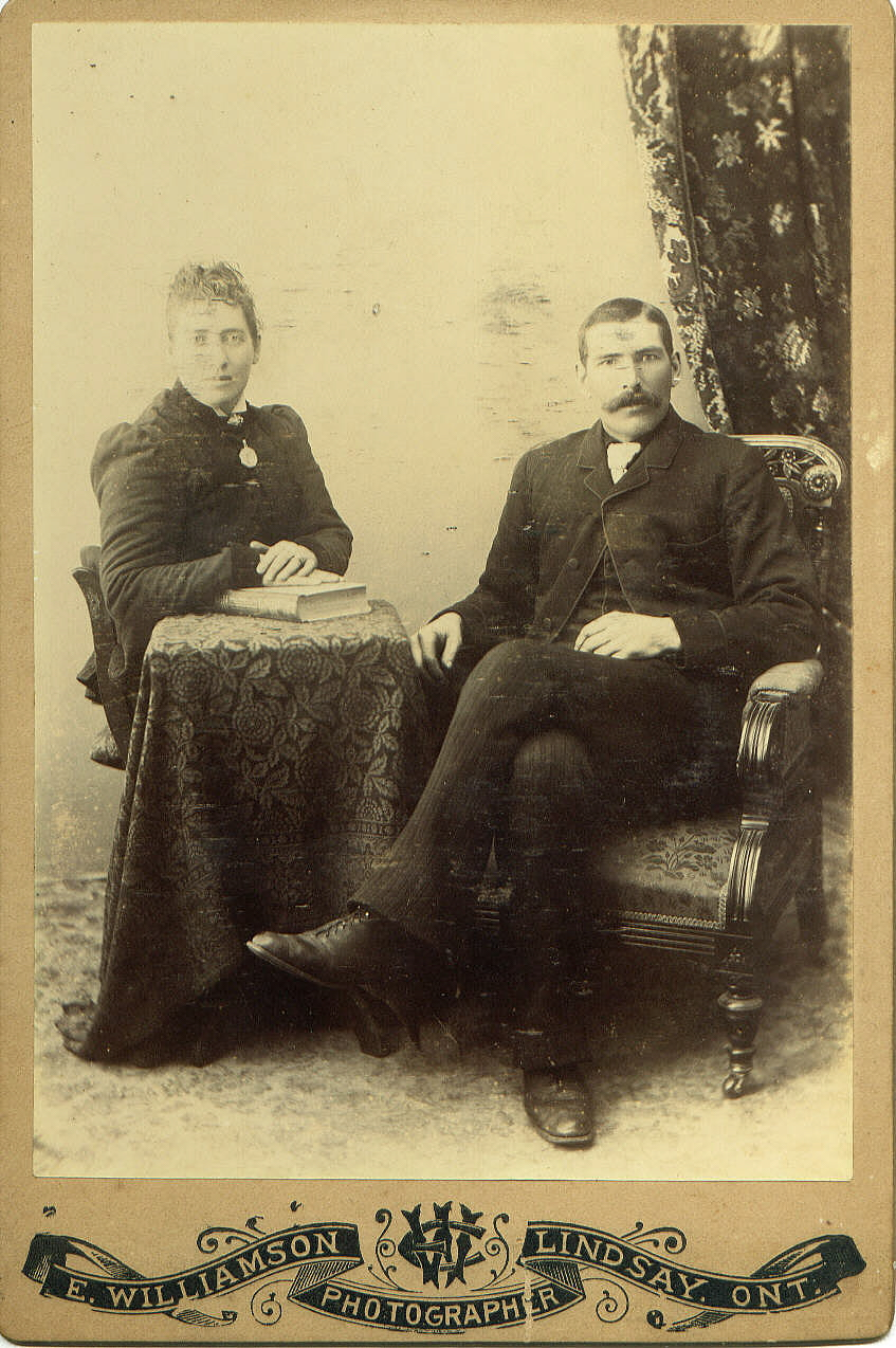 Bill McCabe with wife Catherine