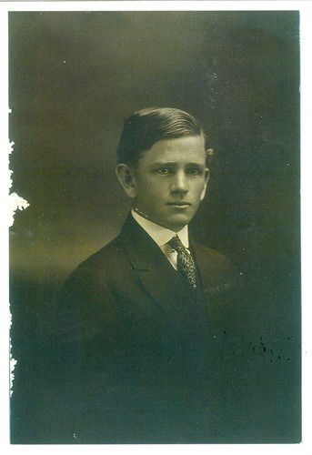 A young Richmond Floyd Bennett