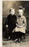 Kenneth and Vera as Young Children