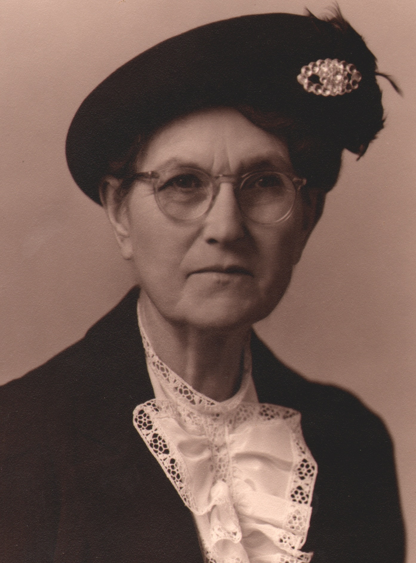 Grandma Dolores GRIFFIN McCabe in Hat