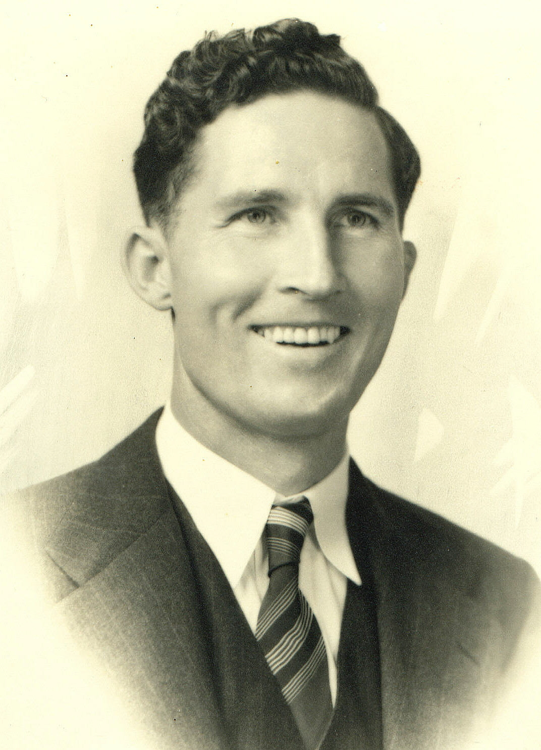 Gene as a young man